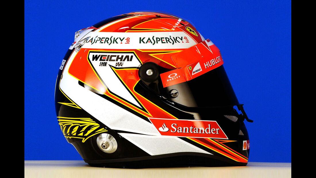 Helm Kimi Räikkönen - Formel 1 2014
