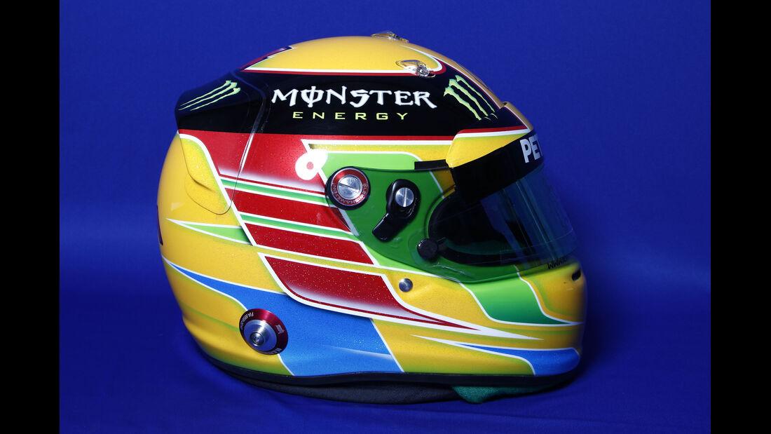 Helm Lewis Hamilton - Formel 1 2014