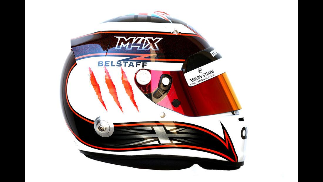 Helm Max Chilton - Formel 1 2014