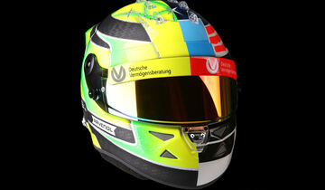 Helm - Mick Schumacher - Showrun GP Belgien 2017