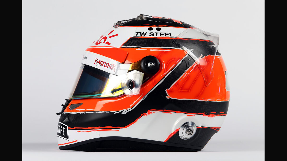 Helm - Nico Hülkenberg - Force India - 2015