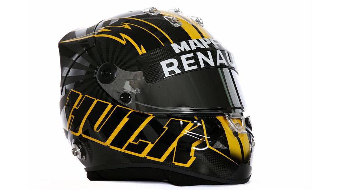 Helm - Nico Hülkenberg - Renault - Saison 2018