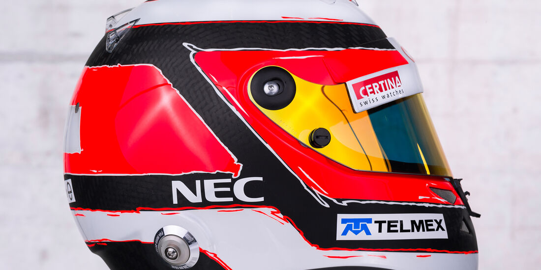 Helm Nico Hülkenberg Sauber 2013