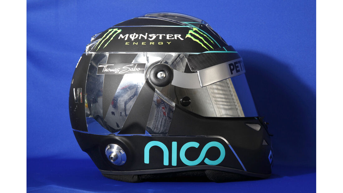 Helm Nico Rosberg - Formel 1 2014