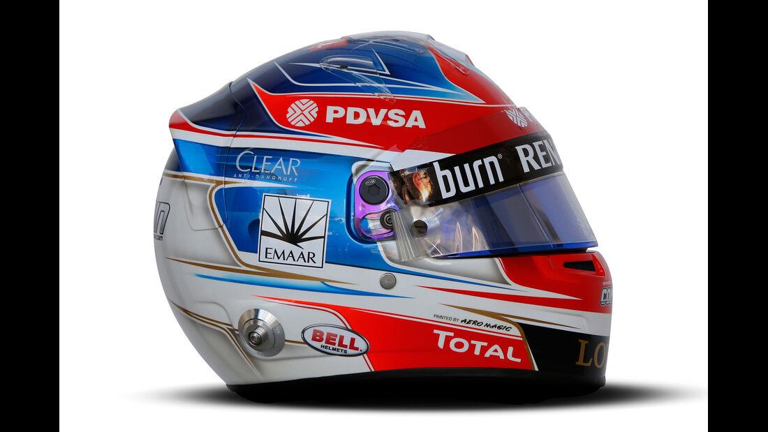 Helm Romain Grosjean - Formel 1 2014