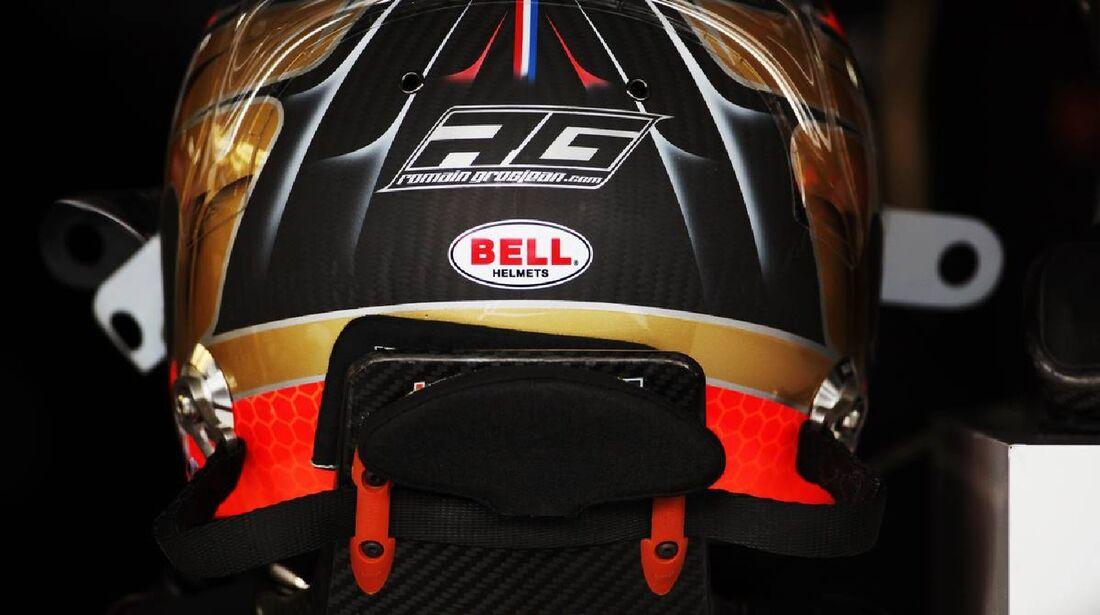 Helm Romain Grosjean - Formel 1 - GP Deutschland - 21. Juli 2012