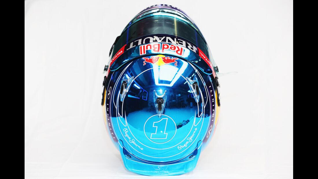 Helm Sebastian Vettel - Formel 1 2014