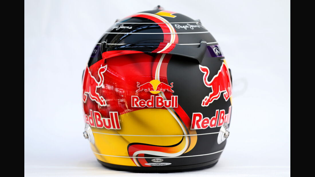 Helm - Sebastian Vettel - GP Deutschland 2014
