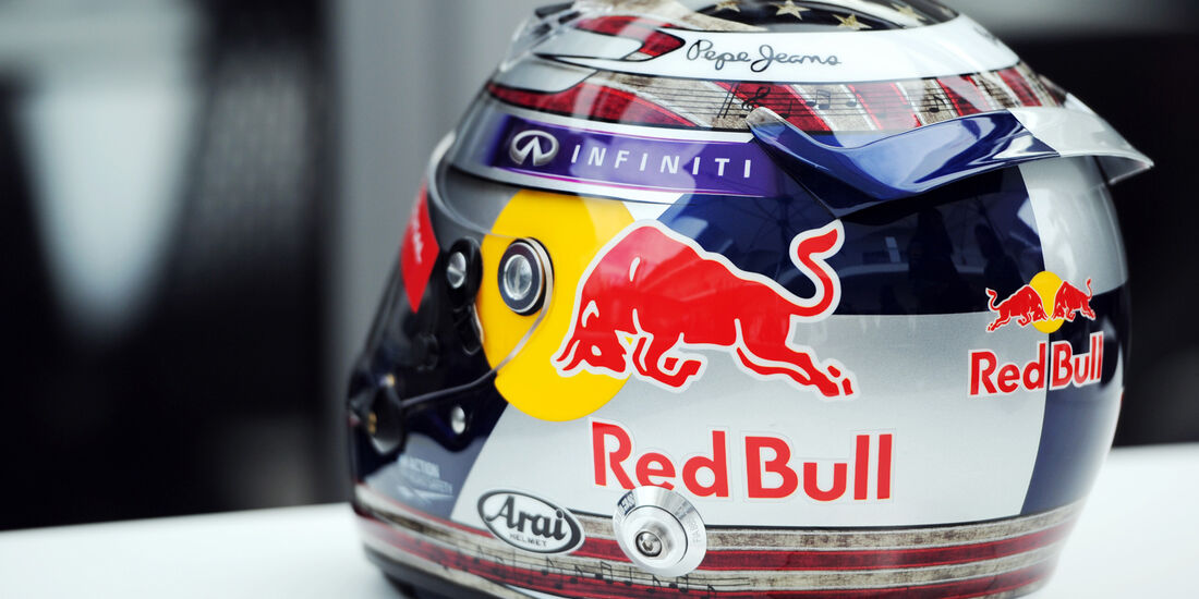 Helm - Sebastian Vettel - Red Bull - Formel 1 - GP USA - 14. November 2013