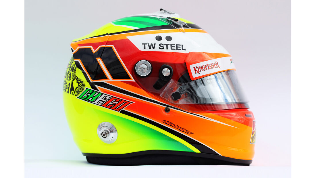 Helm Sergio Perez - Formel 1 2014