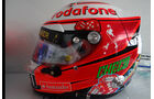 Helm Sergio Perez - Formel 1 - GP Monaco - 24. Mai 2013