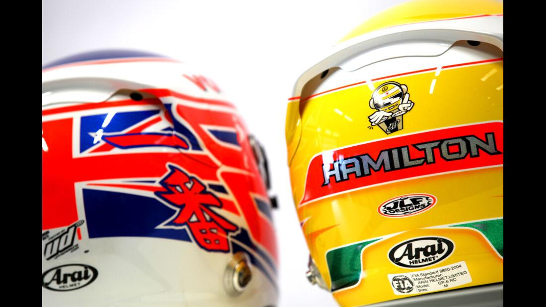 Helme 2012 Hamilton Button