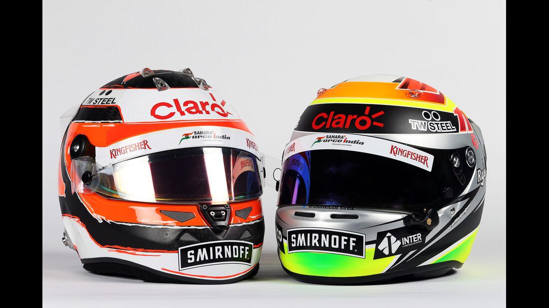 Helme - Hülkenberg & Perez - Force India - 2015