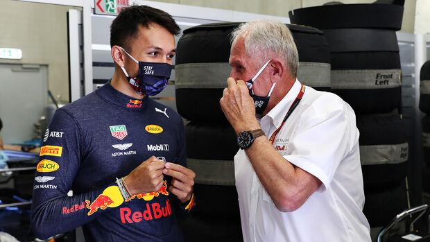 Helmut Marko & Alex Albon - GP Österreich 2020