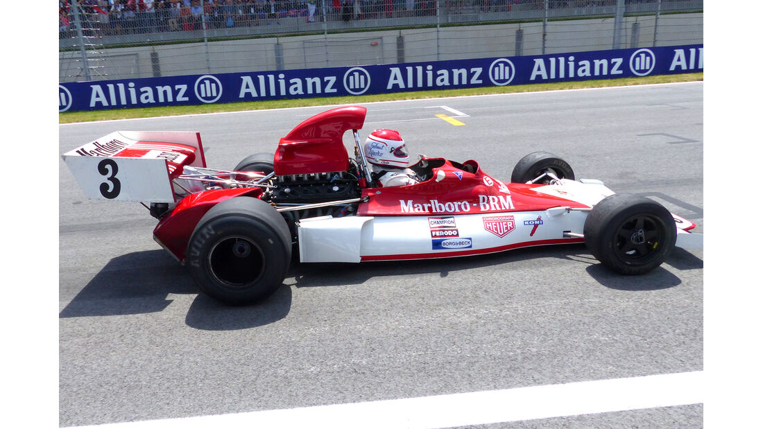 Helmut Marko - BRM P180 - GP Österreich 2014 - Legenden