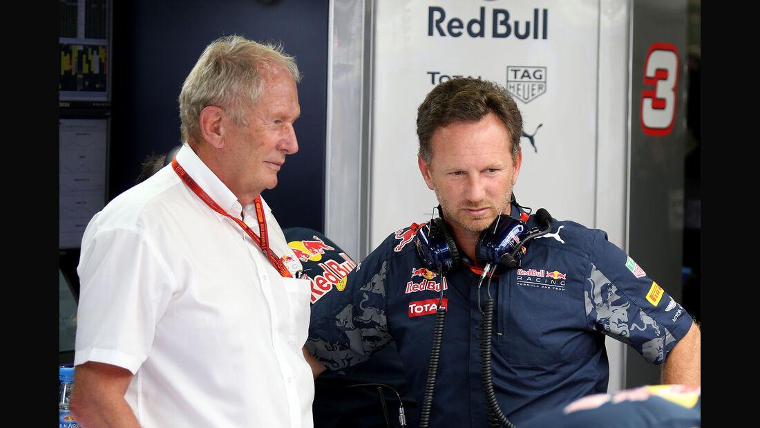 Helmut Marko & Christian Horner - F1 2016
