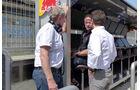 Helmut Marko & Christian Horner - Red Bull - Formel 1 - Bahrain - Test - 1. März 2014