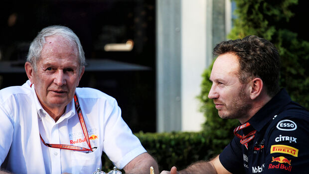 Helmut Marko & Christian Horner - Red Bull - Formel 1 - GP Australien - Melbourne - 23. März 2018