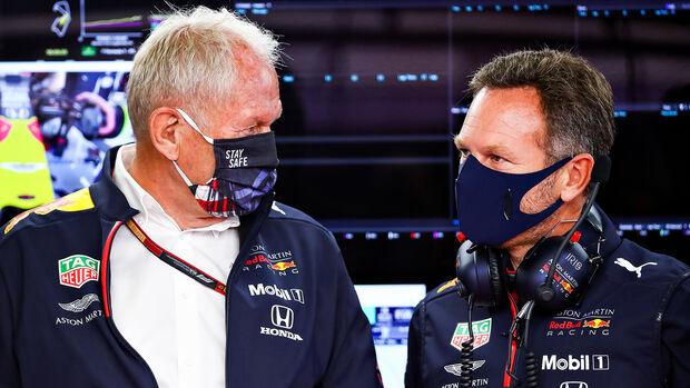 Helmut Marko & Christian Horner - Red Bull - GP Belgien 2020
