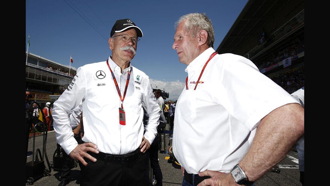 Helmut Marko & Dieter Zetsche - F1 2016