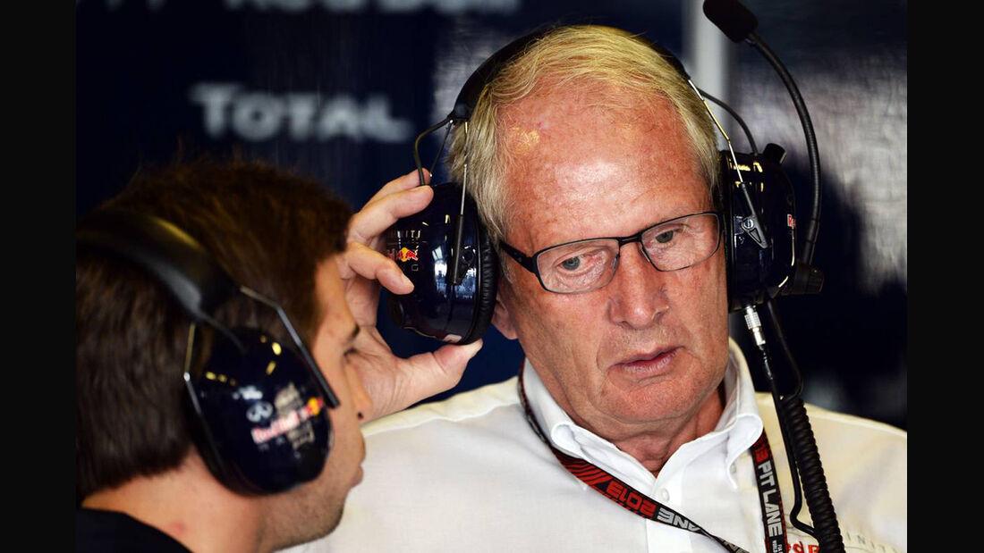 Helmut Marko - Formel 1 - GP Abu Dhabi - 02. November 2013
