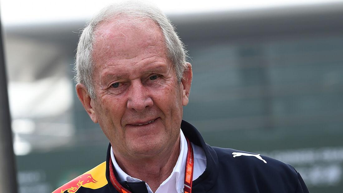 Helmut Marko - GP China 2017