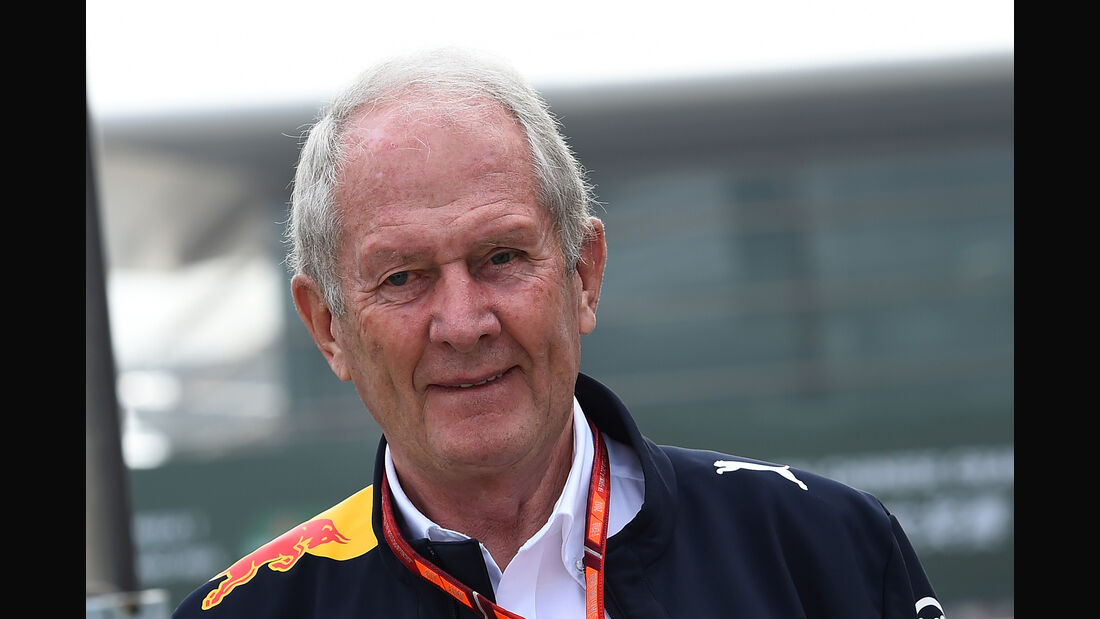 Helmut Marko - GP China 2017