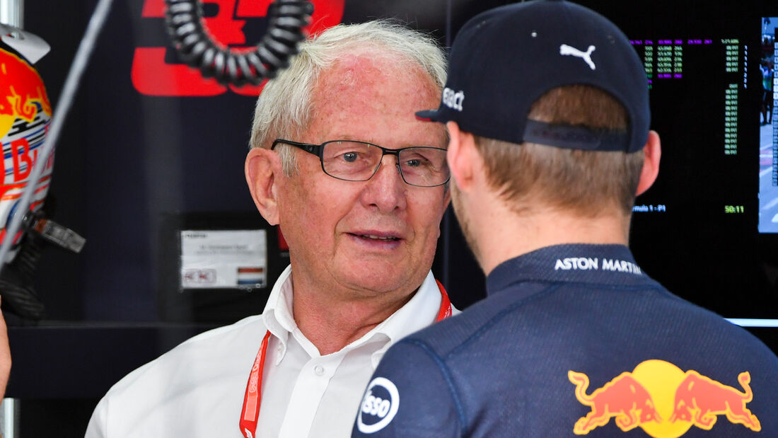 Helmut Marko & Max Verstappen - GP Deutschland 2019