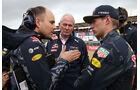 Helmut Marko - Max Verstappen - Red Bull - GP England 2016 - Silverstone - Rennen