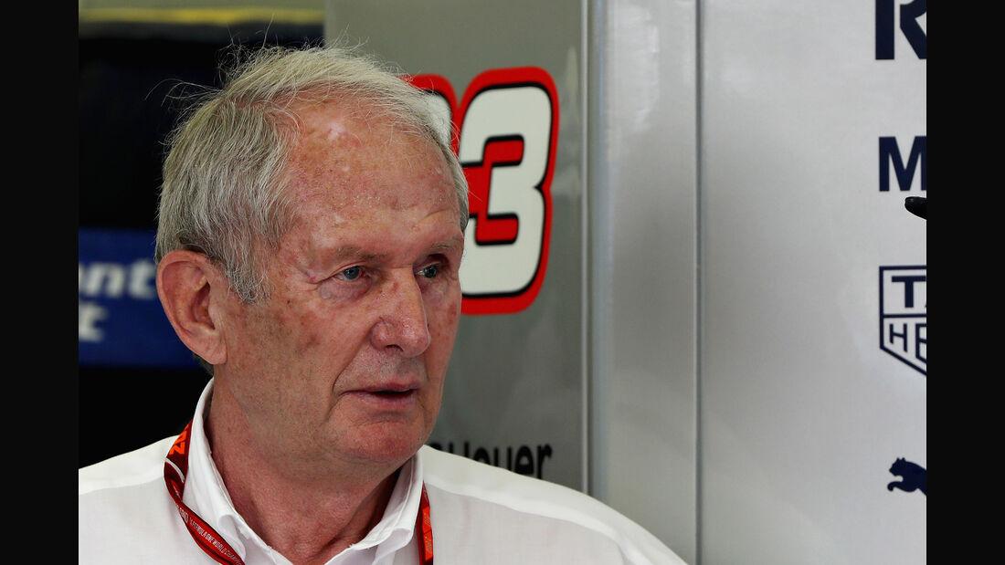Helmut Marko - Red Bull - Formel 1 - 2017
