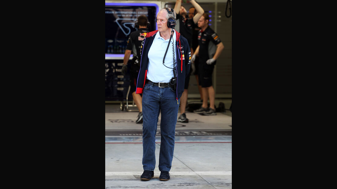 Helmut Marko - Red Bull - Formel 1 - Bahrain - Test - 2. März 2014