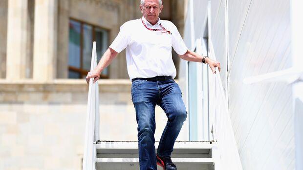 Helmut Marko - Red Bull - Formel 1 - GP Aserbaidschan - 27. April 2018