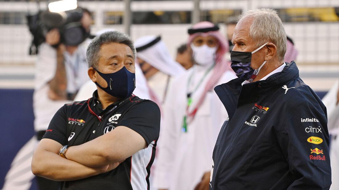 Helmut Marko - Red Bull - Formel 1 - GP Bahrain 2021 - Rennen