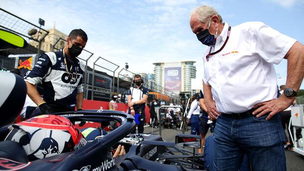 Helmut Marko - Red Bull - GP Azerbaijan 2021 - Baku - Race
