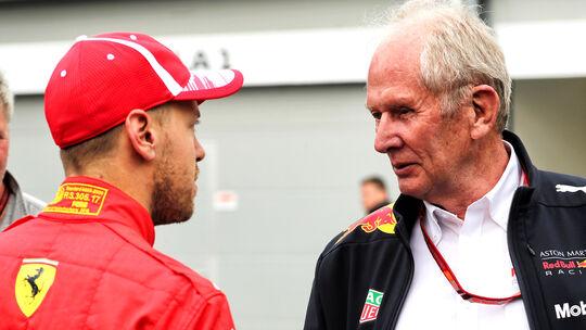 Helmut Marko & Sebastian Vettel - F1 2019