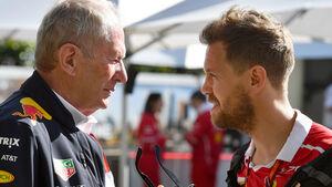 Helmut Marko & Sebastian Vettel - GP Australien 2017