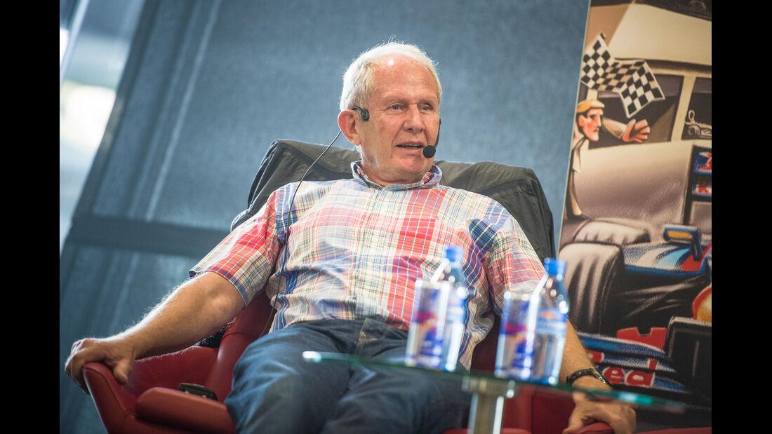 Helmut Marko - Spielberg 2014
