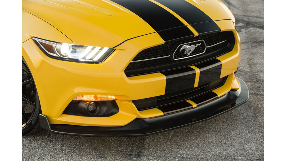 Hennessey HPE750 Supercharged Mustang Convertible Sema 2015