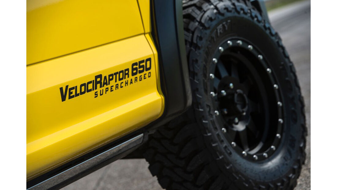 Hennessey VelociRaptor 650 Supercharged Ford F-150 Truck  Sema 2015