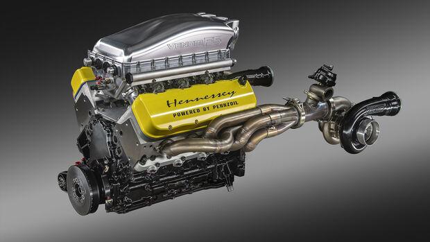 Hennessey Venom F5 Motor V8 Fury Update