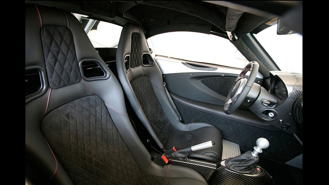 Hennessey Venom GT, Cockpit