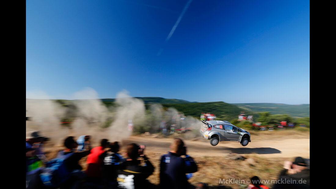 Henning Solberg - Rallye Sardinien 2014