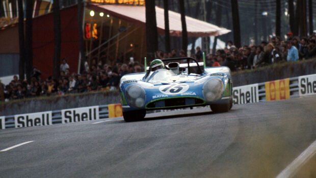 Henri Pescarolo - Graham Hill - Matra-Simca MS670 - Le Mans 1972