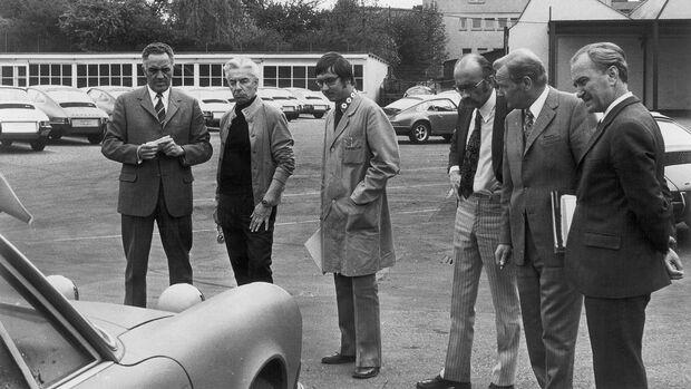 Herbert von Karajan Porsche-Werksauslieferung