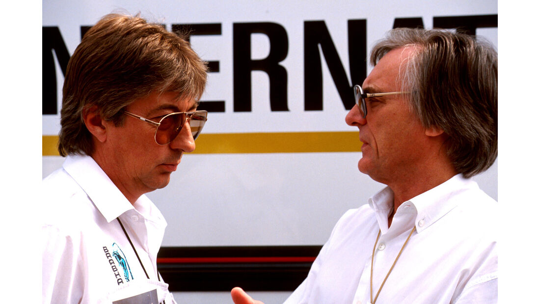 Herbie Blash & Bernie Ecclestone - 1990