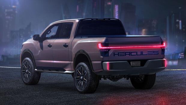 Hercules Alpha EV Pickup
