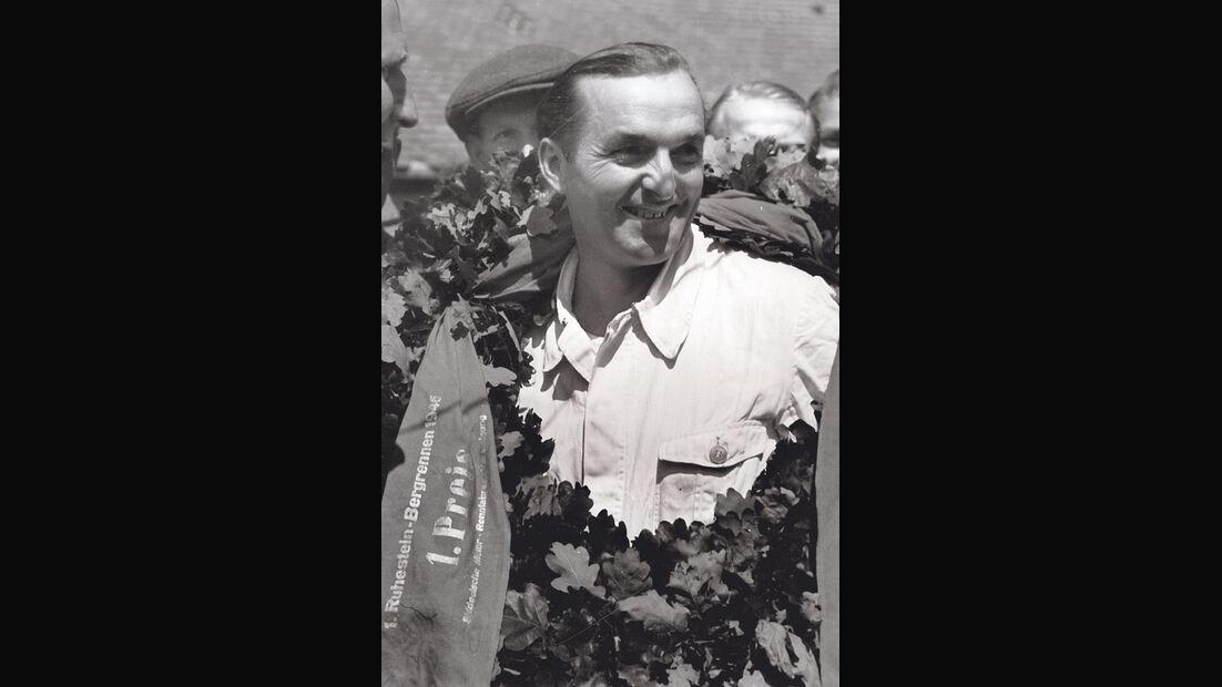 Hermann Lang - Baiersbronn-Obertal - Ruhestein - Bergrennen 1946