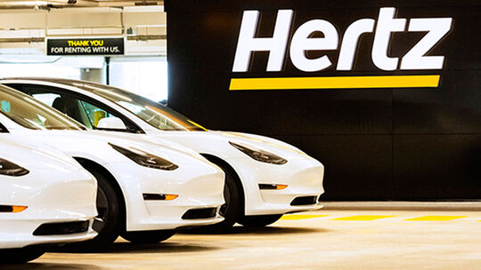 Hertz kauft 100.000 Tesla