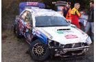 Higgins Unfall WRC Rallye GB 2008