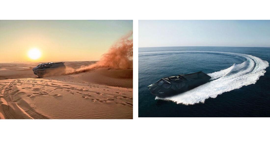 Highland Systems Storm Allterrain Panzer Militär Amphibienfahrzeug